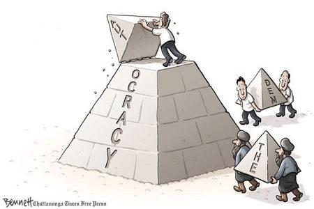 دیموكراسیهتی ڕۆژئاوا چهند شهرمهزاره … بهختیار محهمهد
