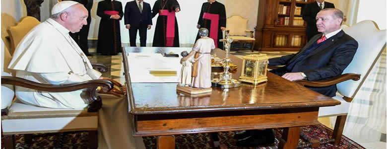 سەردانی ئەردۆغان بۆ لای پاپا لە ڤاتیکان …. د. جاسم خۆشناو