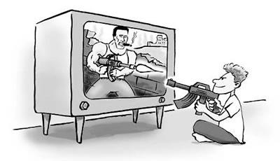 کاریگەری میدیا لە سەر توندوتیژی  … کرمانج فەتاح