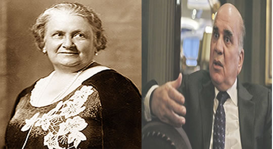 فوئاد حسەین و مەدام ماریا مۆنتیسۆری