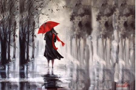 ڕەشپۆشی ژێر باران … حەوسەد خدر رەسووڵ
