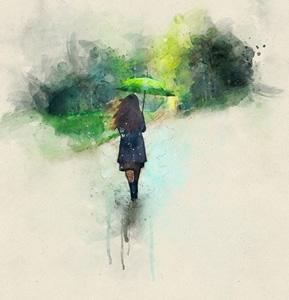 دوا باران.. شیعر/ کاوە عوسمان عومەر